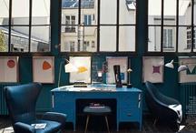 work space / by Saburo Uogashira