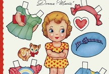 Paper Dolls / by Little Susie Home Maker