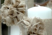 All Things Burlap / by The Farmhouse Weddings LLC