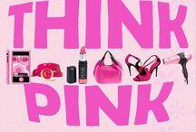 ---I  Thinking Pink--/ / by Tammy Ward