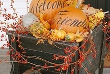 Leaves are falling, pumpkins are calling... / by Adriene Smochek