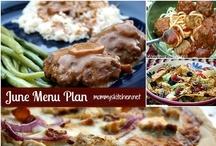 Menu Planning & Menu Plans / by Mommy's Kitchen - Tina Butler