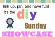 DIY Sunday Showcase Talent / These are awesome pins from the DIY Sunday Showcase!  Check out all of the fabulous craft ideas that have been shown every week.  Have something to share? Link up to the #DIY #Sunday #Showcase / by Jen West from PinkWhen