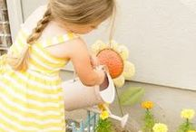 Organicize: Pint-Sized Gardening & Playing Outside! / Gardening, playing outside, and other nature activities to instill a love of the outdoors and an appreciation for our earth in my kiddos! / by Adriene Smochek
