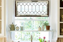 DIY: Old Window, Treatments & Tips / by Christan Wheeler