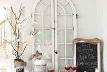 celebrate / Table set-up, Food Decor, Hostessing, Table Dressing Ideas, Misc Food DIY & Ideas... / by Shana B