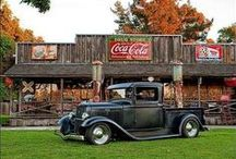 ViNtAgE & All Coca-Cola DeCoR & ReCiPeS / I love all things Coca Cola but vintage has my heart.  Hubby wants to fix up his garage for us to display our Coca Cola collection and have a diner feel for both of us to enjoy. / by Carol Hembree Bell