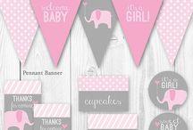 Baby & Bridal shower ideas / by Jill Cunningham