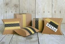 Paper Boxes and Gift Wrapping / DIY Paper Boxes and Gift Wrapping Ideas  #holiday #diy #tutorial #craft #handmade #homemade #gift / by Stacy Molter Photography   Fancy Shanty
