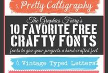 Fonts / Fabulous fonts. #fonts #typography / by Stacy Molter Photography   Fancy Shanty