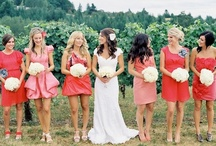 Guava, peach, coral wedding / by Orchid Event Design