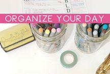 Simplify and Organize / by Brenda Day Stolken