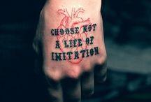 Ink. / by Skye Parks