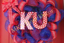 Crimson&Blue, KU:) / by Megan