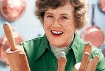 All Things Julia Child / Julia Child did not start cooking till the age of 32 and did not become a world famous chef until the age of 51. I so admired this amazingly unique woman for her passion, optimism and strength. She had a wonderful love for life and cooking! / by Kirstin Jackson