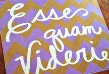 Proud to be a DPhiE <3 / Esse Quam Videri / by Haley