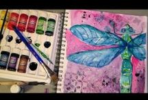 ART JOURNAL / Dibujos, tutoriales y técnias. / by Ana Navas