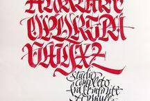 Calligraphy / by undschwarz