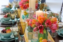 Beautiful Tablescapes / by Kimberly Littler