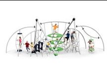 Modern Playgrounds / Great play experiences require great play equipment.  Our playgrounds challenge kids' bodies, engage their minds, and free their imagination. / by Playworld Systems Inc. = play equipment