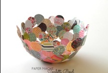 Crafts - Paper, Ribbons, and Bows / by Leah
