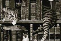 Books & Libraries / by Ella Petrova (Juhnevica)