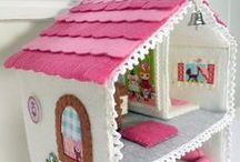 DIY Doll House Ideas / Inspiration for creating doll houses, furniture and dolls  / by Mothering
