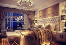 Home Decor: Bedrooms / by Christine Brandt