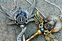 Clocks & Keys / by Tina's Treasures