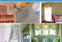 Kid/Tween Room Ideas / by Sandra Villeneuve