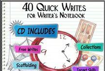 Writer's Notebook / by Janice Malone, ELA Seminars, LLC