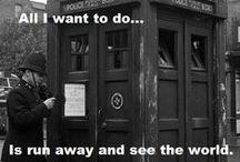 Geekery: Doctor Who/Torchwood/SJA / by Hazel Weller