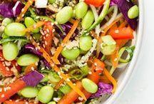 Vegetarian Recipes / Meatless recipes. Some vegan & gluten-free.  / by Christina Ashley