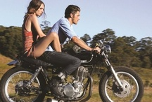 Two Wheels / Four wheels move the body, two wheels move the soul.  / by Irish