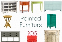 painted furniture / by girl pacific