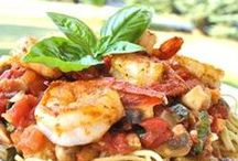 PASTA & SEAFOOD / by Julie Paige-Rixe