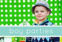 Boys Birthday Party ideas / by Robin B