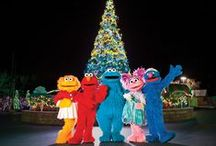 A Very Furry Christmas / It's A Very Furry Christmas at Sesame Place! Open select dates November 17th – December 31st.  Join us for a one-of-a-kind family-friendly celebration with everyone's favorite furry friends. The fun starts with 3 special Christmas shows, dry rides (weather permitting), awesome music and twinkling lights all around. Our street will glow with festivities and come to life at night with our illuminated Neighborhood Street Party Parade.  / by Sesame Place