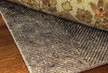 Rug Pads for Flat Weave Rugs / Rug Pad for Kilim, Aubusson and Needlepoint Rugs prevents wrinkling and slipping. Ultra Premium is rated as most effective rug pad under all flat weave rugs. It contains a distinct texture to grab and hold any flat weave area rug to keep it flat and in place. / by Rug Pad Corner