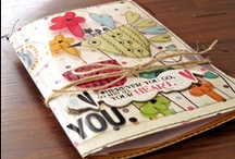 art journaling & scrapbooking  / a great creative outlet for an office supply hoarder like me :) / by Linda Smith