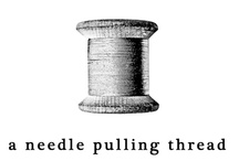 Sew...a needle pulling thread... / by Aura Phillips