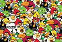 Angry Birds / Because they are cool in my son's eyes / by Lacey S