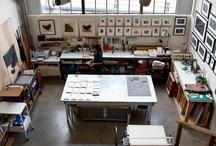 studio ideas / by Carrie Shryock (1canoe2)