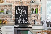 Kitchens Are Made For Family To Gather / by Diane Bockus