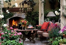 Outdoor Dreams / I've always wanted an outdoor room... Now to build it. / by Kathy Stetz