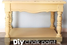 Painted Furniture / Tips and tutorials that teach you how to use paint to decorate furniture and furnishings around your home. / by Capturing Joy with Kristen Duke