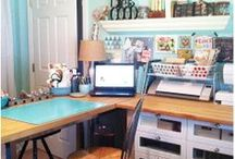 Inspiring craft rooms / by Kim Watson