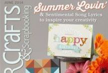 Papercrafts & Scrapbooking magazine (was CK magazine) / by Kim Watson