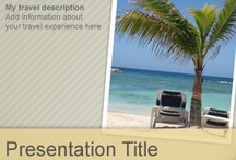 Travel PowerPoint Templates / by Free PowerPoint Templates