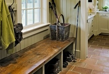 Entry/Mud & Laundry Rooms / by Lynn Stecker